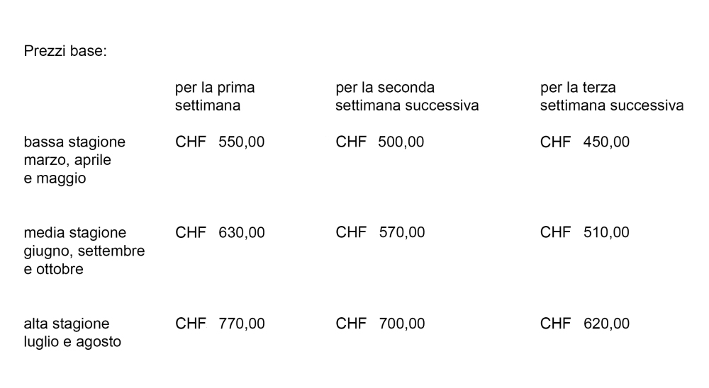 Prezzi casa cavalli italiano